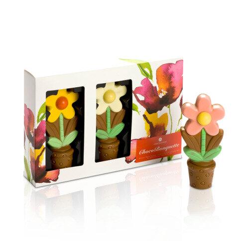 Chocolissimo - Čokoládové kvety - sladký kyticu 210 g