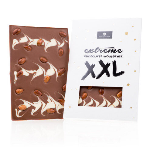 Chocolissimo - Vianočná čokoláda XXL - mandľová 350 g