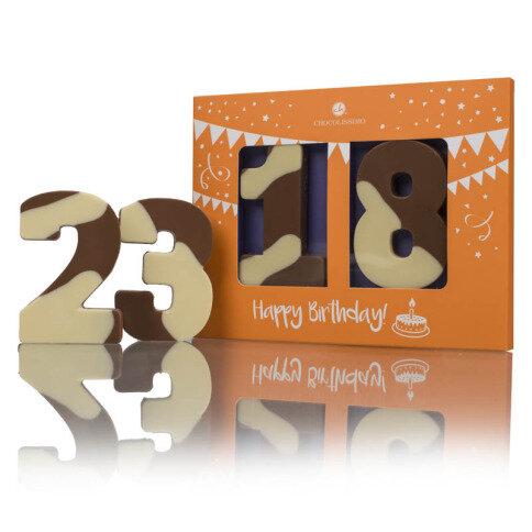 Chocolissimo - Čokoládové číslice 60 g