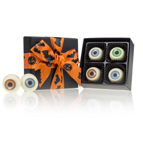 Chocolissimo - Strašidelné oči-čokoládové pralinky v krabičke XS 40 g