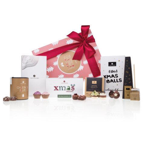 Chocolissimo - Vianočný darčeková sada s čokoládou 610 g