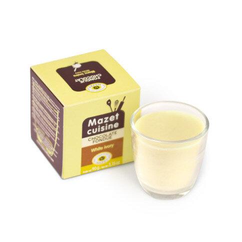 Chocolissimo - Čokoláda na fondue - biela 90 g