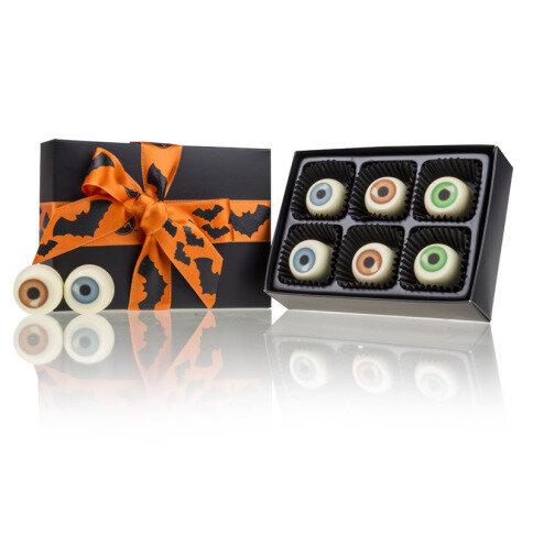 Chocolissimo - Strašidelné oči-čokoládové pralinky v krabičke L 60 g