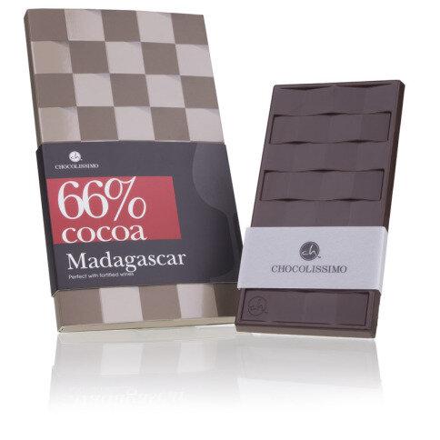 Chocolissimo - Horká čokoláda Madagaskar 66% 80 g