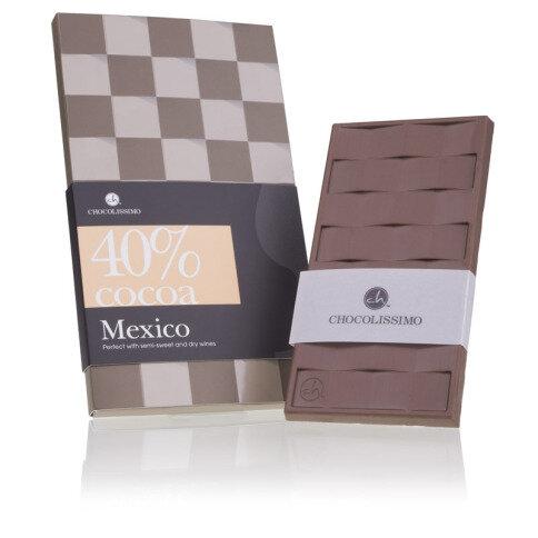 Chocolissimo - Mliečna čokoláda Mexiko 40% 80 g