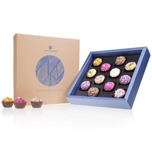 Chocolissimo - Čokoládové pralinky v tvare cupcakes 225 g