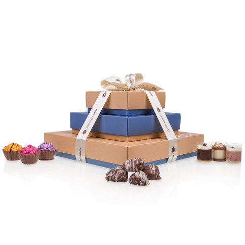 Chocolissimo - Hranatá čokoládová sada plná rozmanitostí 400 g