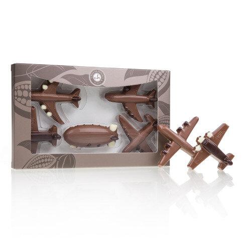 Chocolissimo - Sada čokoládových lietadiel 100 g