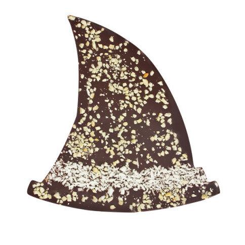 Chocolissimo - Čokoláda v tvare klobúka čarodejnice - horká čokoláda 125 g