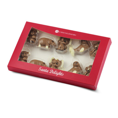 Chocolissimo - Vianočné čokoládové figúrky - Veselá zoologická záhrada 100 g