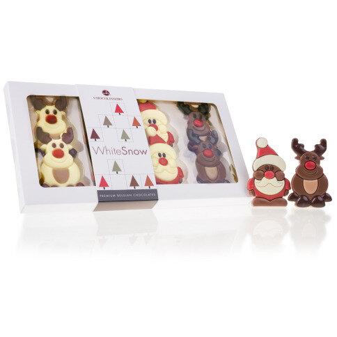 Chocolissimo - Vianočné figúrky - mikulášovia a sobi 95 g