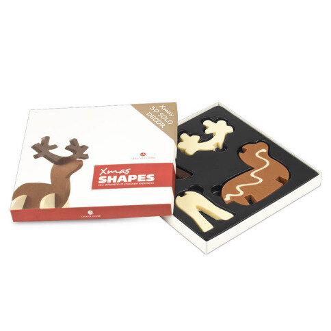 Chocolissimo - Vánoční čokoládová figúrka soba ve 3D 110 g