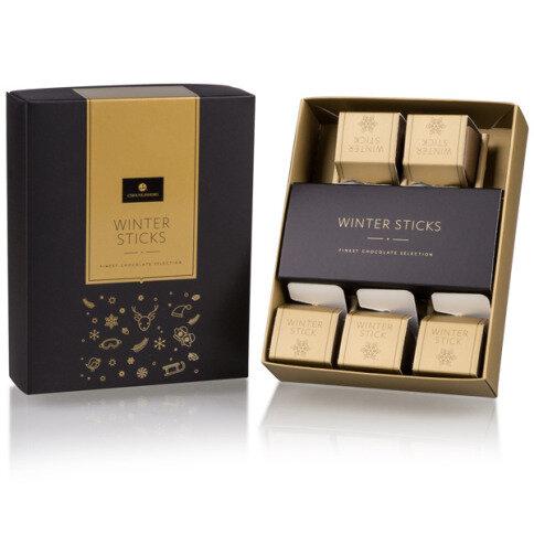 Chocolissimo - Vianočný box s horúcou čokoládou - 5ks 160 g